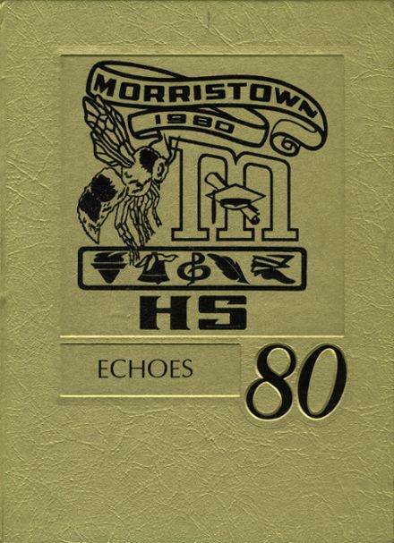 1980 Morristown High School Yearbook Cover