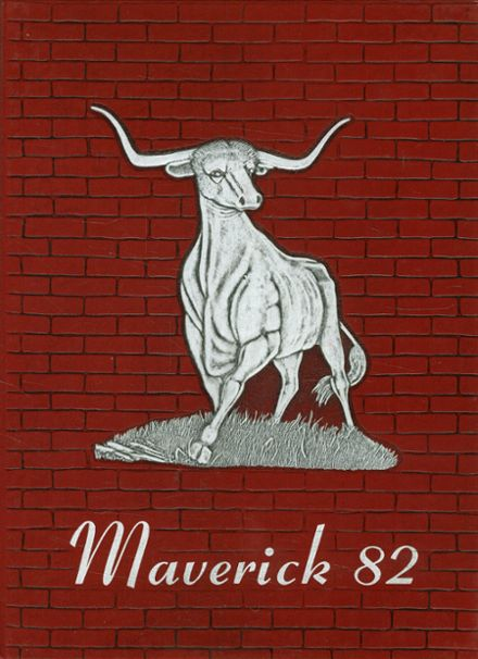 1982 Marshall High School Yearbook Cover