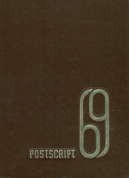 1969 Central High School Yearbook Cover