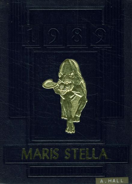 1989 St. Mary's Academy Yearbook Cover