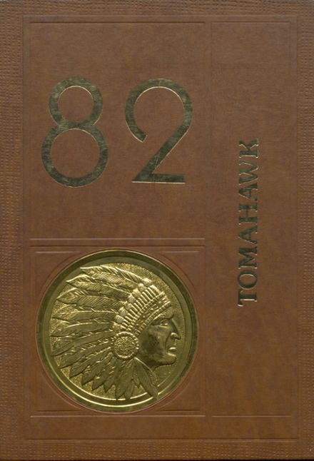 1982 Apache High School Yearbook Cover