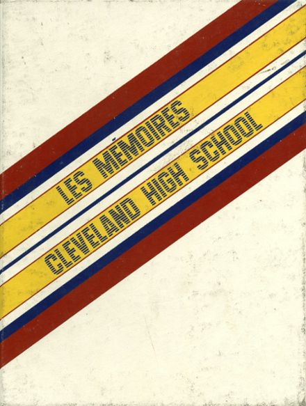 1984 Grover Cleveland High School Yearbook Cover