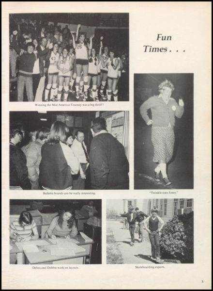 1978 McLish High School Yearbook Page 7