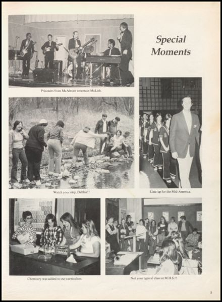 1978 McLish High School Yearbook Page 9