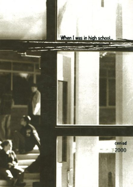 2000 East Lansing High School Yearbook Cover