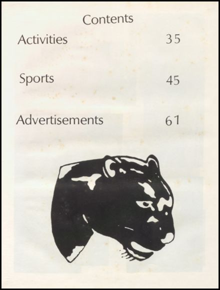 1984 Pittsburg High School Yearbook Page 5