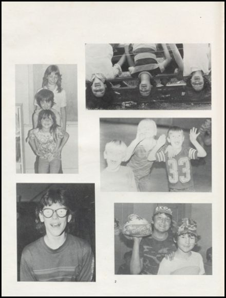 1984 Pittsburg High School Yearbook Page 6