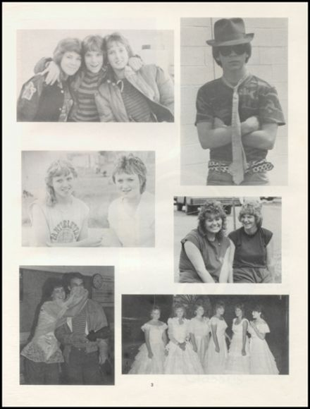 1984 Pittsburg High School Yearbook Page 7