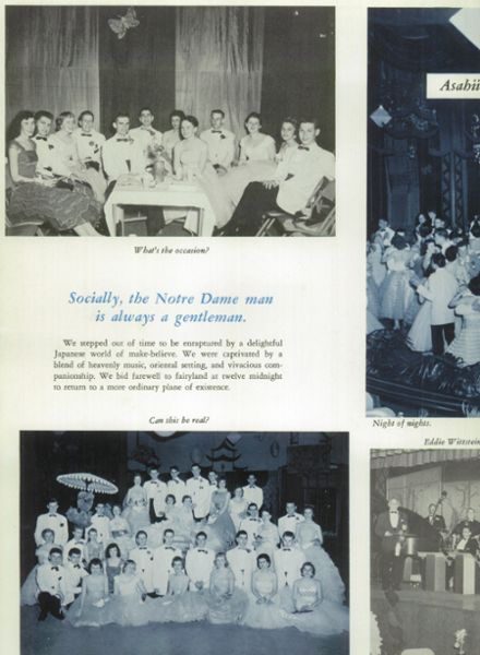 1958 Notre Dame High School Yearbook Page 8
