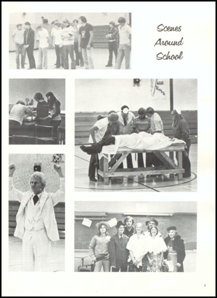 1976 Rib Lake High School Yearbook Page 9