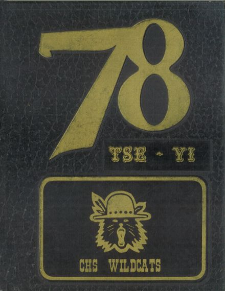 1978 Chinle High School Yearbook Cover
