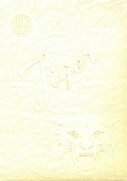 1952 Armstrong High School Yearbook Cover