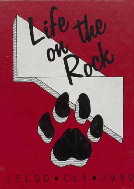 1990 Coupeville High School Yearbook Cover