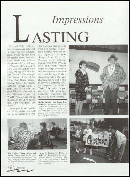 1999 Rib Lake High School Yearbook Page 6