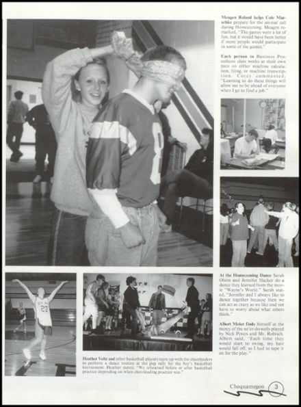1999 Rib Lake High School Yearbook Page 7