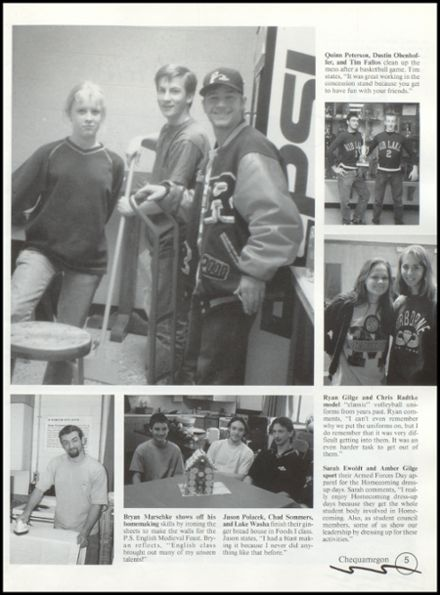 1999 Rib Lake High School Yearbook Page 9