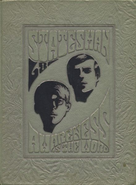 1968 Carl Hayden High School Yearbook Cover