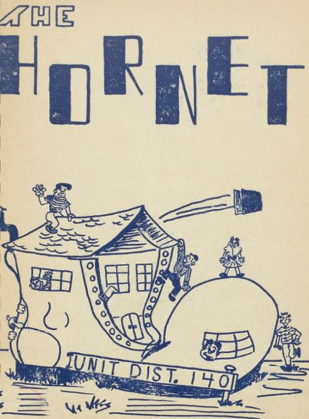 1953 Eureka High School Yearbook Cover