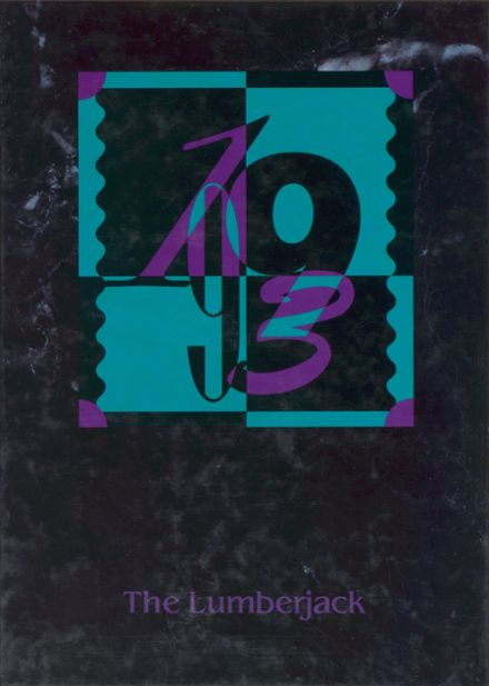 1993 Diboll High School Yearbook Cover