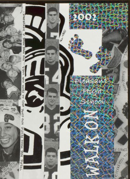 2002 Pleasant High School Yearbook Cover
