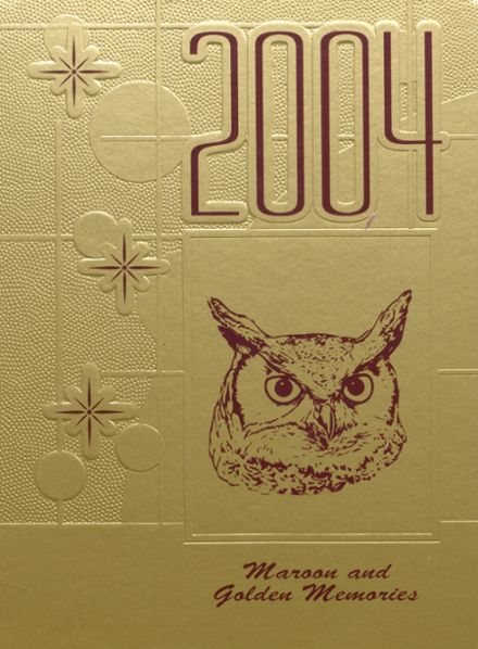 2004 Whitehall High School Yearbook Cover