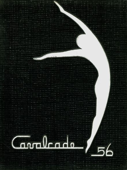 1956 Clawson High School Yearbook Cover