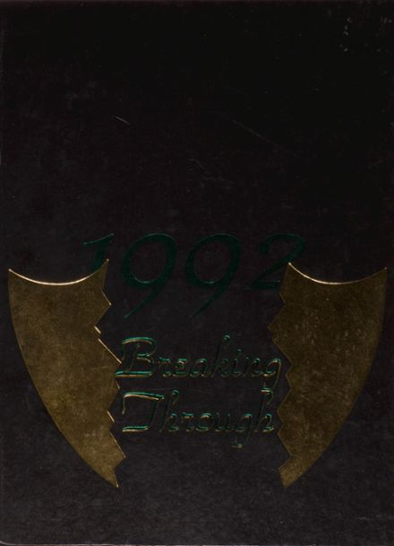 1992 Mounds View High School Yearbook Cover