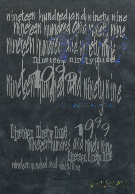 1999 Marshall High School Yearbook Cover