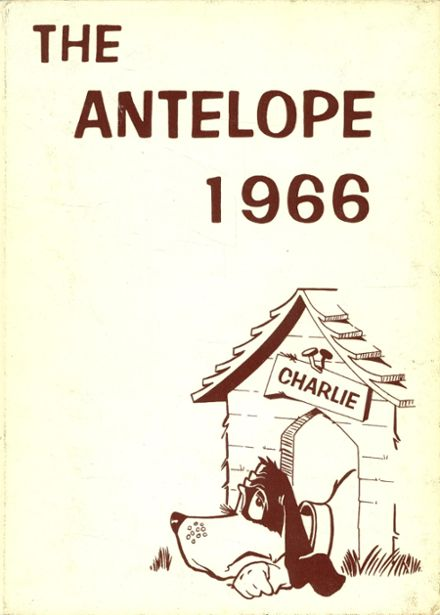1966 Abernathy High School Yearbook Cover