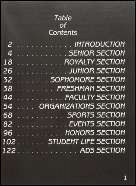 1989 Dewey High School Yearbook Page 5