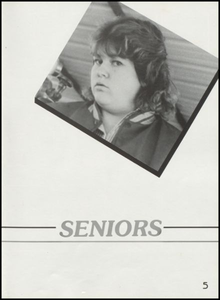 1989 Dewey High School Yearbook Page 9