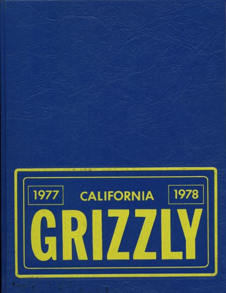 1978 California High School Yearbook Cover