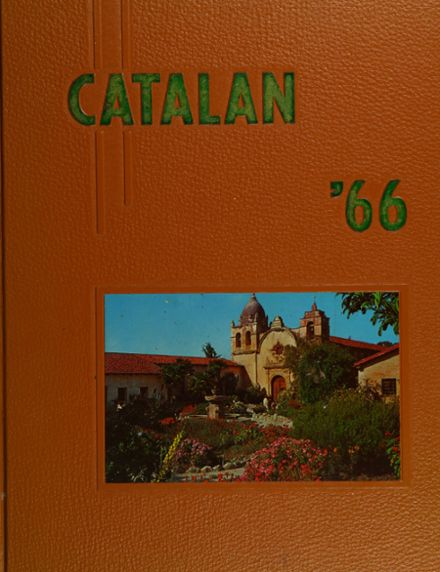 1966 Academy of St. Catherine Yearbook Cover