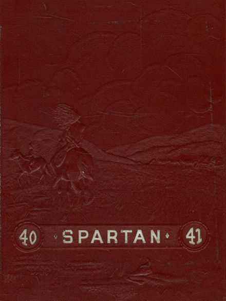 1941 East Sparta High School Yearbook Cover