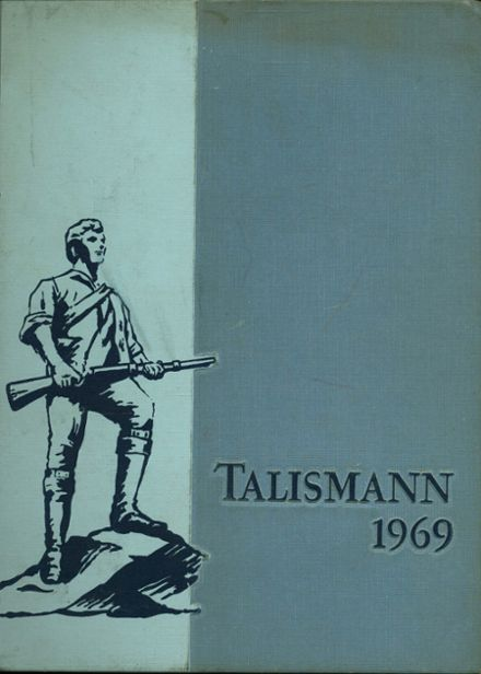 1969 Mann High School Yearbook Cover