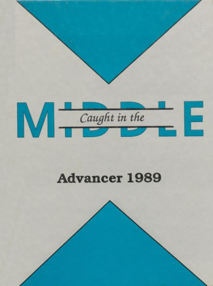 1989 Advance High School Yearbook Cover