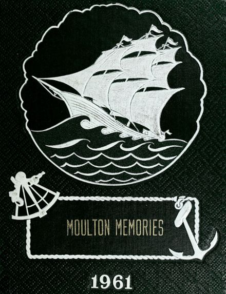 1961 Moulton Elementary School Yearbook Cover