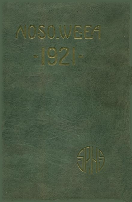 1921 St. Petersburg High School Yearbook Cover