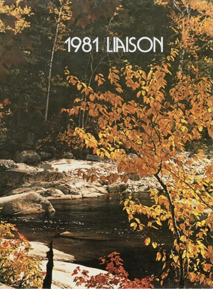1981 Honeoye Falls-Lima High School Yearbook Cover