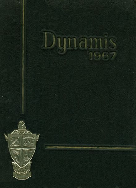 1967 Northwest Cabarrus High School Yearbook Cover