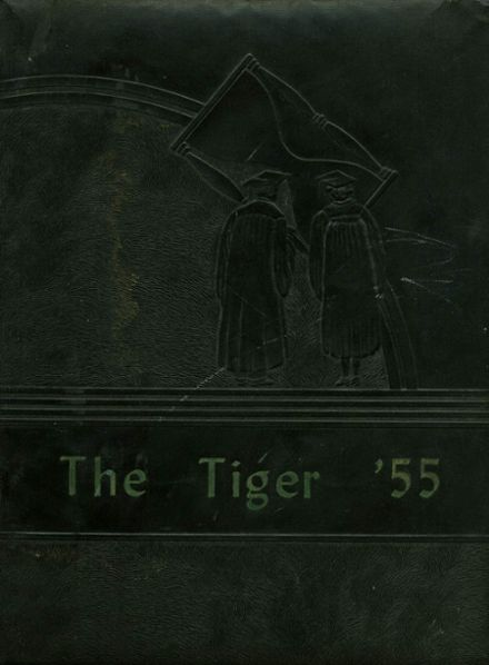 1955 Charlotte High School Yearbook Page 1