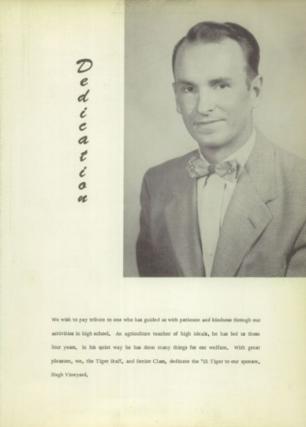 1955 Charlotte High School Yearbook Page 7