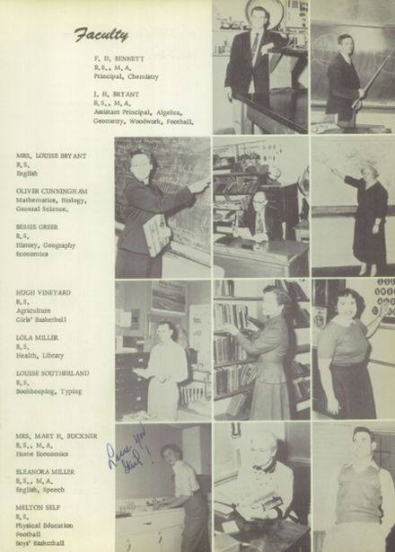 1955 Charlotte High School Yearbook Page 9