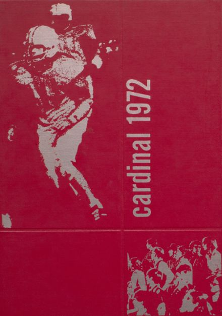 1972 Taylor County High School Yearbook Cover