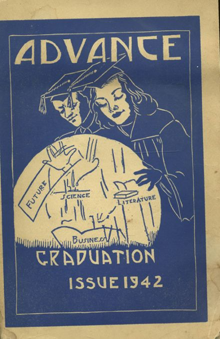 1942 Salem High School Yearbook Page 1