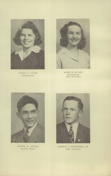 1942 Salem High School Yearbook Page 9