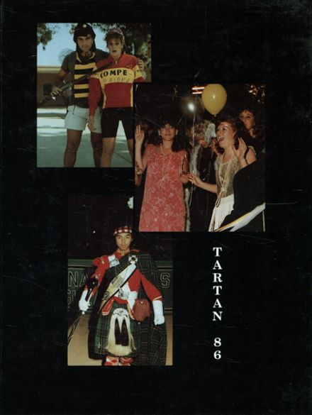 1986 Granada Hills High School Yearbook Cover