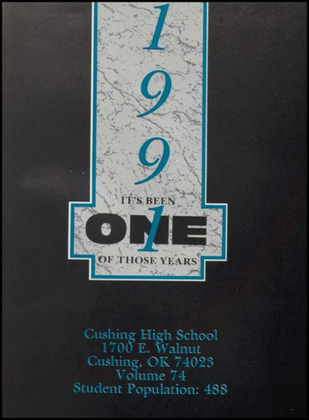 1991 Cushing High School Yearbook Page 5
