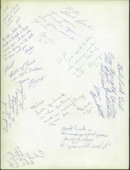 1961 Rochester High School Yearbook Page 4