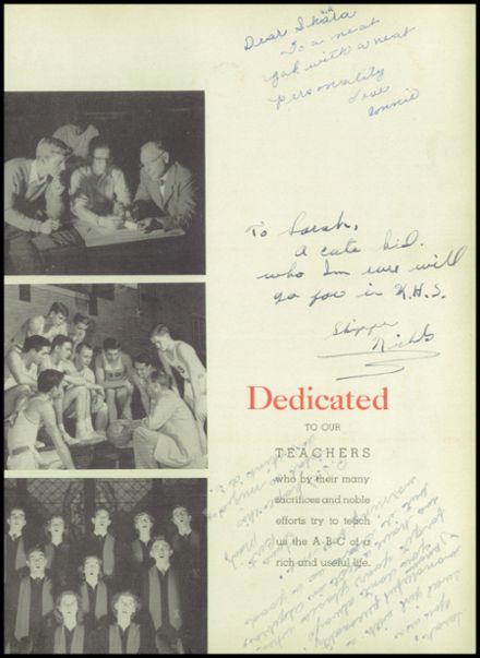 1951 Kirkwood High School Yearbook Page 9